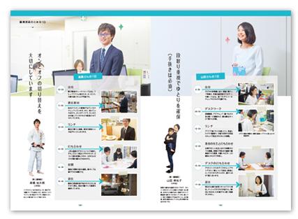 株式会社メジカルビュー社 パンフレットデザイン2